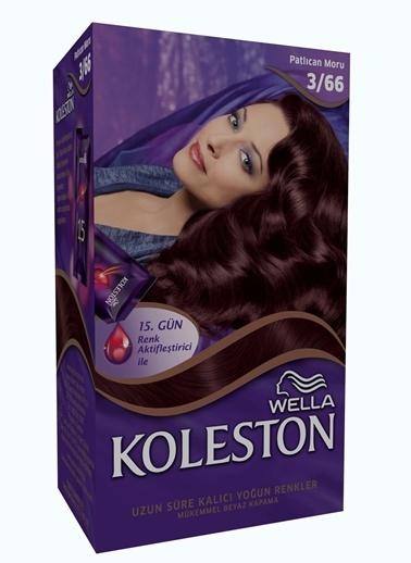 Koleston Koleston Kit Saç Boyası 3/66 Patlıcan Moru Renkli